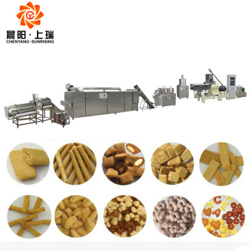 Extruded snack machine extruded snack production line