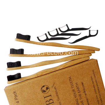 Nice Clean And Environmentally Friendly Bamboo Toothbrush