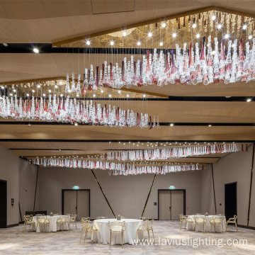 Modern elegant high quality customized hotel chandeliers