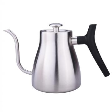 Drip coffee kettle with thermometer