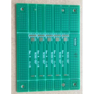 2 layer PCB stack up thickness
