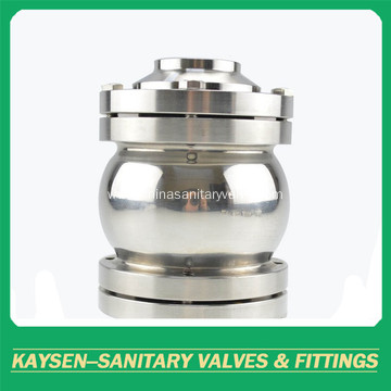DIN Hygienic Flanged Non-Return Valves Ball Type