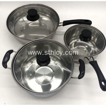 Hindi kinakalawang na asero Professional Cookware Sets