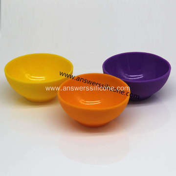 Eco-friendly silicone collapsible pet travel bowl