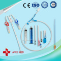 Double lumens Hemodialysis Catheter kits