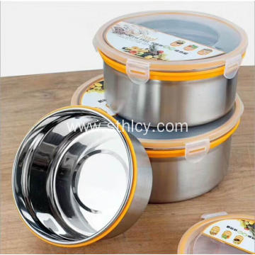 201/304 Stainless Steel Food Container Set