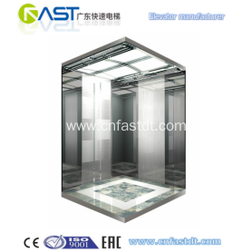 630KG 8 Persons Passenger Elevator with 1.0m/s .outdoor elevator/commercial elevator