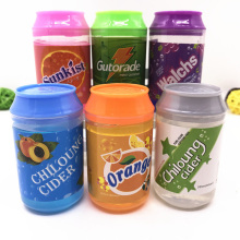 6 Color Cans Of Slime Crystal Mud DIY Transparent Jelly DIY Mud Magic Clay Blowing Bubbles Slime Toy Decompression Toys TXTB1