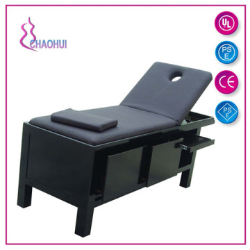skin act massage table with storage