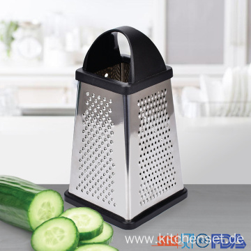 manual stainless steel vegetable and cheese box grater