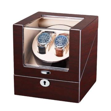 Mahogany Single Rotor Watch Winder