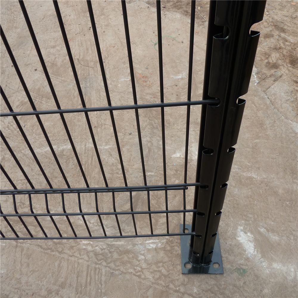 Cheap Price 3D Fold Welded Mesh Fence Panel Factory