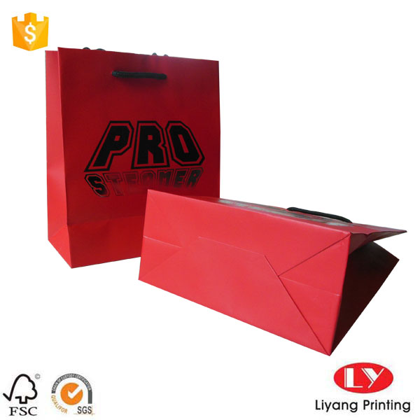 Red jewelry bags