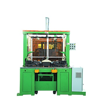 Punching and cutting barrel hole turning machine