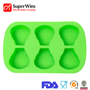 Durable Silicone Cupcake Baking Molds