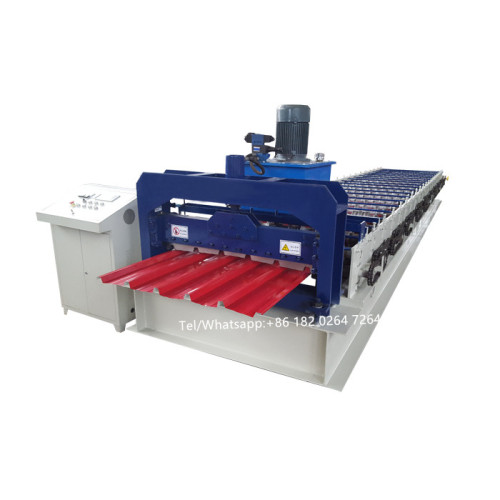 Europe type roofing sheet roll forming machine