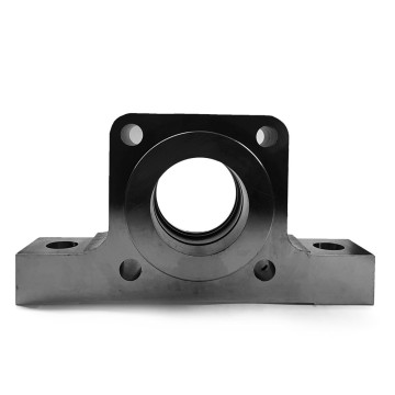 Lost Wax Casting Steel Hydraulic Cylinder Bracket Heavy