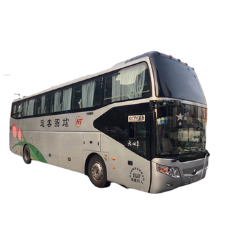 Used Yutong LHD 61 seats tourism coach