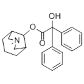 1-methyl-4-piperidyl diphenylglycolate CAS 3608-67-1