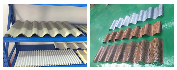corrugated metal sheet roofing machinery