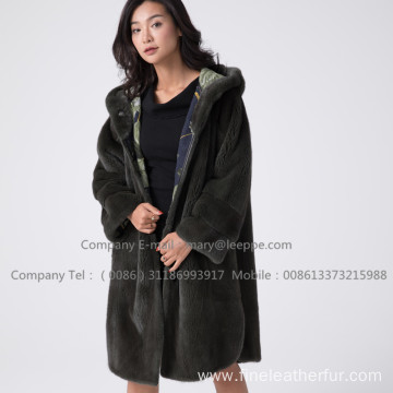 Kopenhagen Velvet Mink Coat For Women