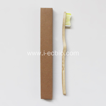 Toothbrush Bamboo Eco Friendly Curved Toothbrush Plate