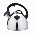 Stovetop coffee kettle with whistling spout