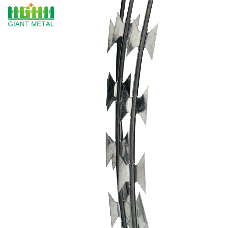High Quality Hot Dipped Galvanized Clips Razor Wire