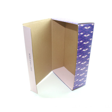 Custom Recycled Currugated Foldable Packaging Shoe Paper Box