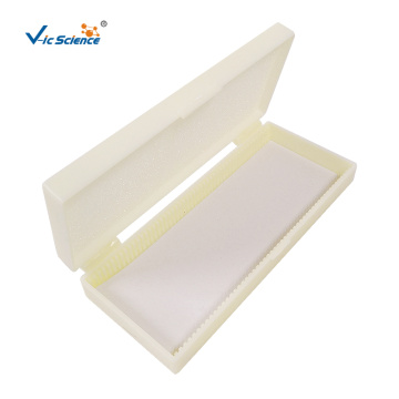Microscope Slides Storage Box Of Lab Product