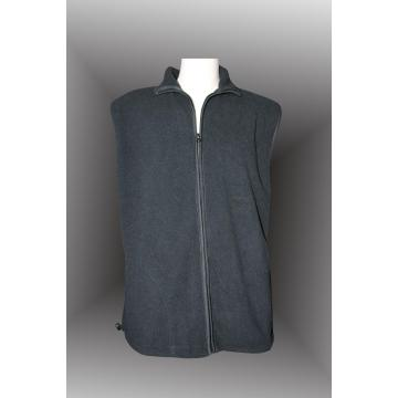 polyester men's polar fleece vest