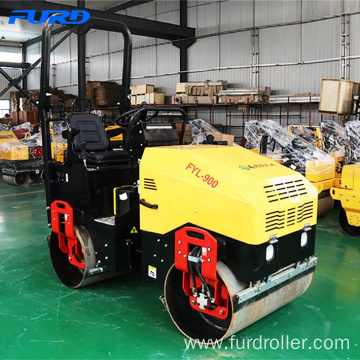 1.5ton Small Ride-on Vibrating Roller for Sale