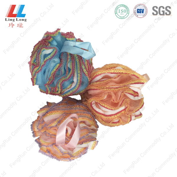 National style comely sponge ball