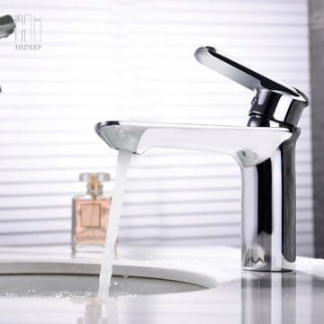 HIDEEP Brass Chrome Under Counter Basin Faucet
