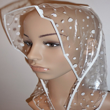 Waterproof foldable disposable rain bonnet factory