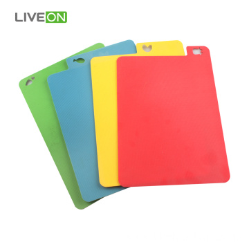 Thin PP Cutting Board Plastic 4Pcs Set