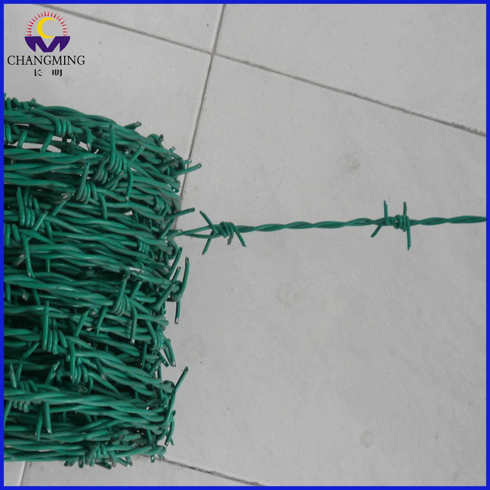 High Quality Free Samples PVC Barbed Wire