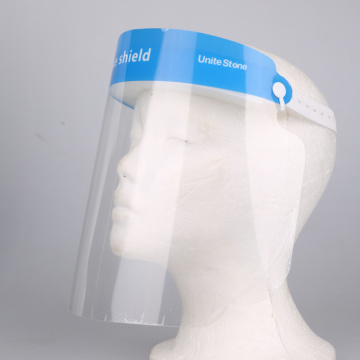 Adjustable Transparant Reusable Safety Face Shield