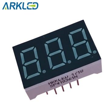 3 digit 7 segment led display 3631