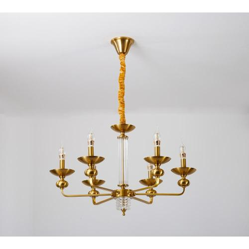 American Style Elegant Indoor Lighting Iron Chandelier
