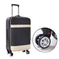 Brand factory online shopping .leather luggage trolley bag