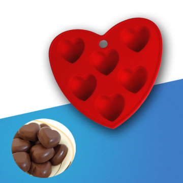 mini heart silicone chocolate mold