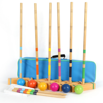Eastommy hot selling outdoor Six-Player Croquet Set