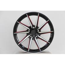 Machined Face and Red coating 16inch wheel rim