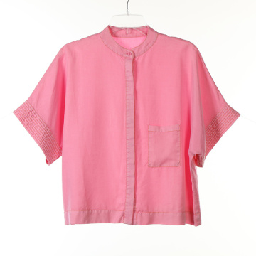 Tencel Garment Dye Short Sleeve Shirts