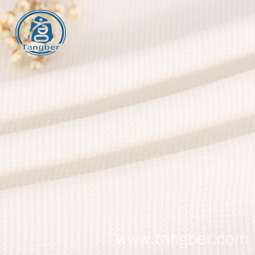 Knitting  65% Polyester 35% Cotton Waffle Fabric
