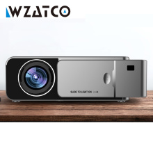WZATCO T6 HD LED Projector 3000Lumen Android 10.0 Option Portable HD I USB Support 4K 1080p Home Theater Cinema Proyector Beamer