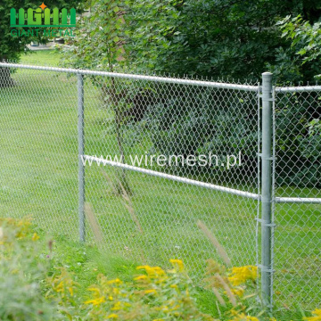 Galvanized Frame Chain Link Fence Rolls
