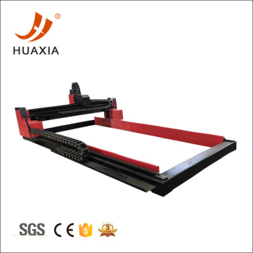 Small gantry plasma cutter with cutting table