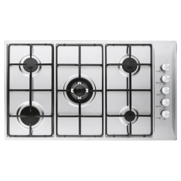 Glem 90 Hobs Stainless Steel 5 Rings